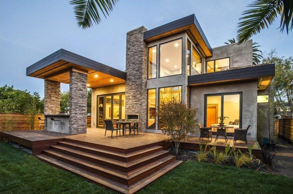 Современные стили в архитектуре и внутреннем оформлении загородных домов